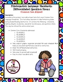 Guided Reading:  Question Stems for Kindergarten Language Standards