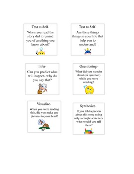 Guided Reading Questioning