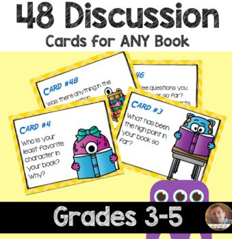 Guided Reading Questions: 48 Cards for Independent, Guided, or Buddy Reading