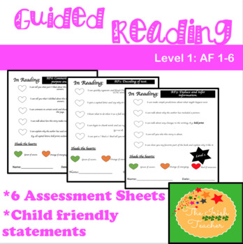 Guided Reading Questions: Level 1