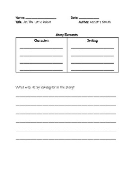 Guided Reading Questions Level D
