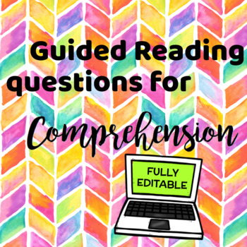 Guided Reading Questions for Comprehension