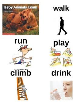 Guided Reading/Read Aloud Plan BABY ANIMALS LEARN Pamela Chanko Level B