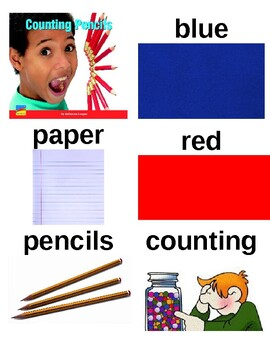 Guided Reading/Read Aloud Plan COUNTING PENCILS Katherine Scraper Level A