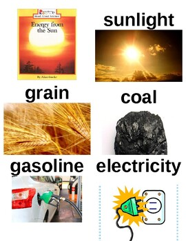 Guided Reading/Read Aloud Plan ENERGY FROM THE SUN Allan Fowler Level I