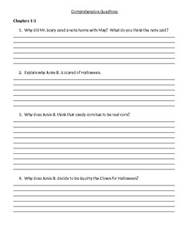 Guided Reading/Read Aloud Plan Junie B Boo And I Mean It Level M