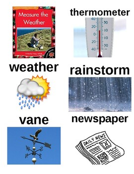Guided Reading/Read Aloud Plan MEASURE THE WEATHER Tracey Michele Level I
