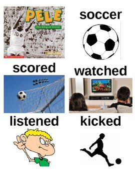 Guided Reading/Read Aloud Plan PELE THE KING OF SOCCER Susan Canizares Level G