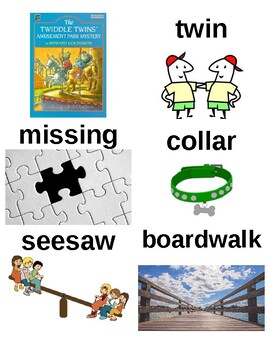 Guided Reading/Read Aloud Plan THE TWIDDLE TWINS' AMUSEMENT PARK MYSTERY Level L