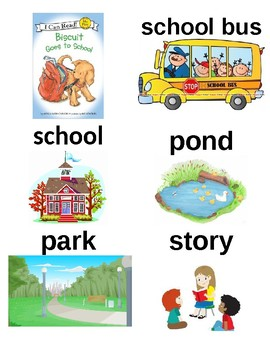Guided Reading/Read Aloud Plan for Biscuit Goes To School Level F