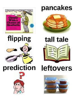 Guided Reading/Read Aloud Plan for Cloudy With A Chance Of Meatballs Level M