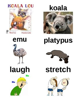 Guided Reading/Read Aloud Plan for Koala Lou by Mem Fox Level K