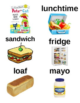 Guided Reading/Read Aloud Plan for PETE THE CAT PETE'S BIG LUNCH Level J