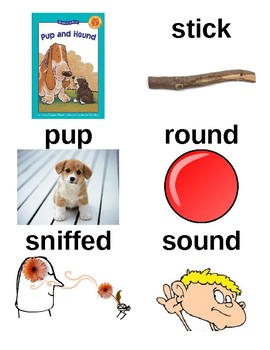 Guided Reading/Read Aloud Plan for PUP AND HOUND by Susan Hood