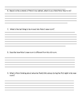 Guided Reading/Read Aloud Plan for The War With Grandpa ESL Level S