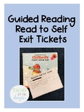 Guided Reading - Read to Self Exit Tickets