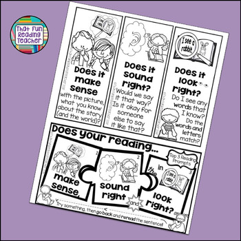 Guided Reading - Reading Prompts