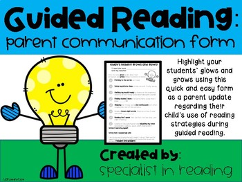 Guided Reading Update
