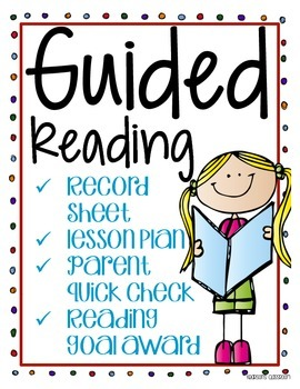 Guided Reading Record Sheet and Lesson Plan