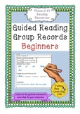 Guided Reading Record Sheets