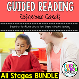 Guided Reading Reference Cards - Based on J. Richardson's