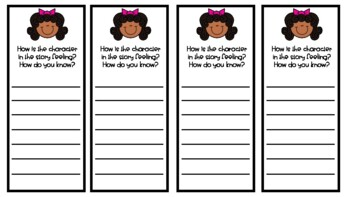 Guided Reading Response Bookmarks