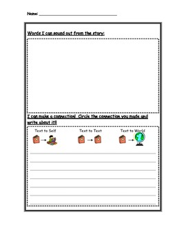 Guided Reading Response Sheets