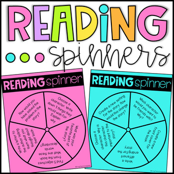 Guided Reading Response Spinners - Comprehension