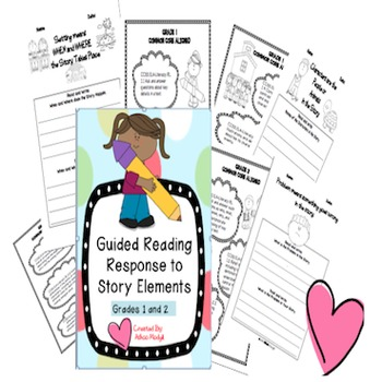 Story Elements  Graphic Organizers{Common Core Aligned}