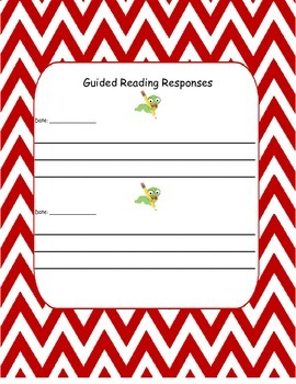 Guided Reading Responses