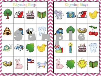Guided Reading Rhyming Games Set