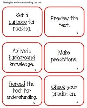 Guided Reading Strategies Helper