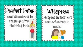 Guided Reading Role Cards