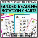 Guided Reading Rotation Binder & Organization