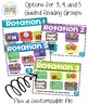 Guided Reading Rotation with Timers Editable Digital