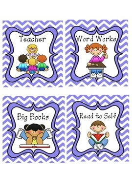 Guided Reading Rotations Tags