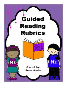 Guided Reading Rubrics