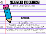 Guided Reading Schedule *Editable*