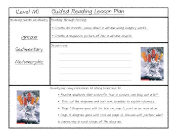 Guided Reading Scholastic Level M - Boom (Gutner)