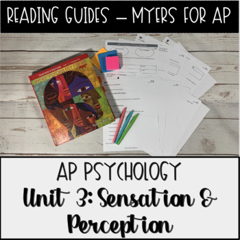 Guided Reading: Sensation & Perception Unit Myers' Psychology for AP