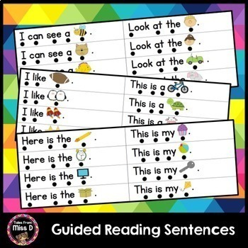Guided Reading Sentences