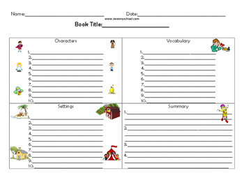 Guided Reading Sheet