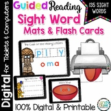 Guided Reading Sight Word Activity Mats & More - Print or for Digital Google Use