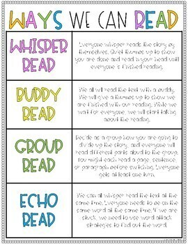 Student-Led Guided Reading Groups