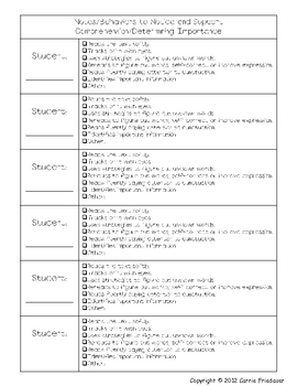 Guided Reading Small and Whole Group Reading Strategies Lesson Plans