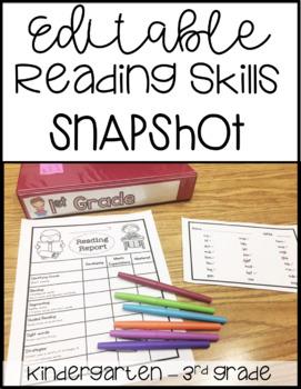 "Guided Reading ""Snapshot"" Assessment"