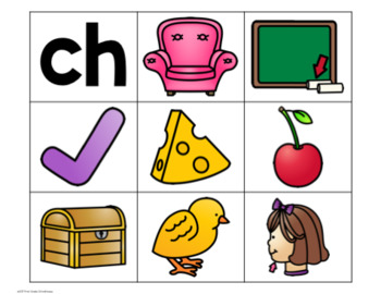 Guided Reading Word Sorts Beginning Digraphs ch, sh, th, wh