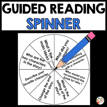 Guided Reading Spinner