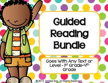 Guided Reading Starter Bundle