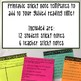 Guided Reading Sticky Notes